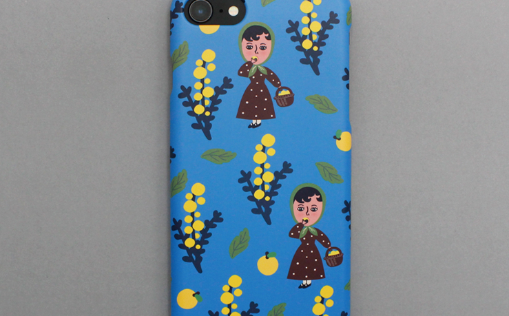 Mandarin Picking Snap Phone Case - whoami