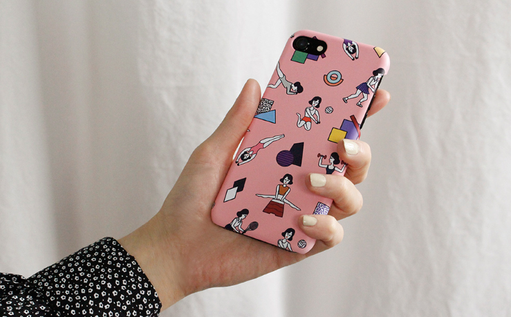 Active Girl Snap Phone Case - whoami