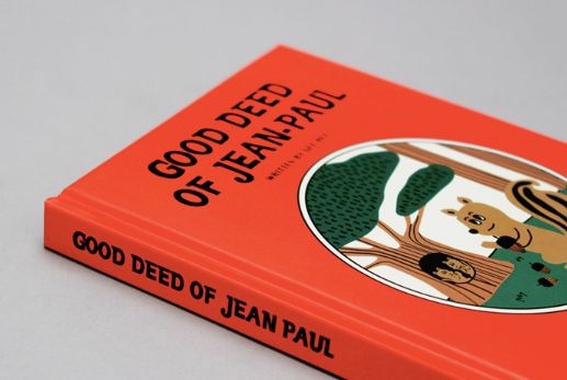 Good Deed Jean Paul Hard Cover Note - whoami