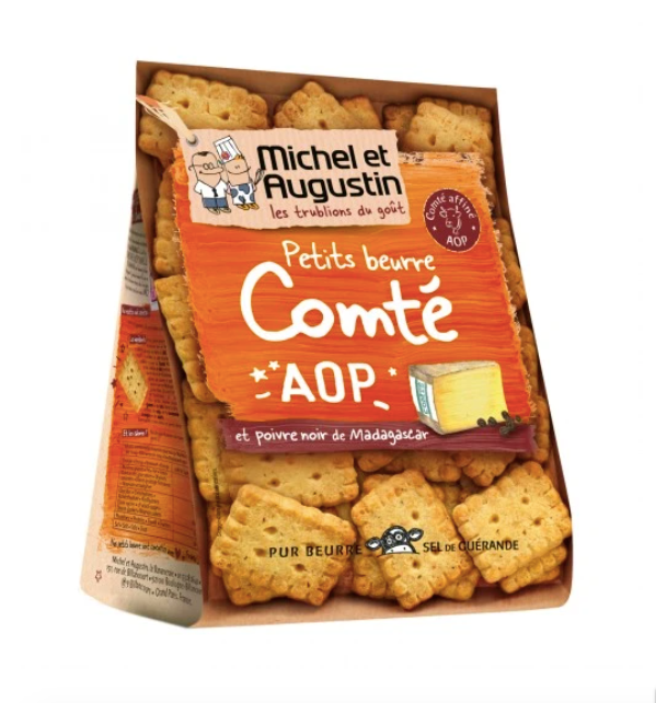 MICHEL ET AUGUSTIN - Black Pepper & Cheese Biscuit - 100g x3 - whoami