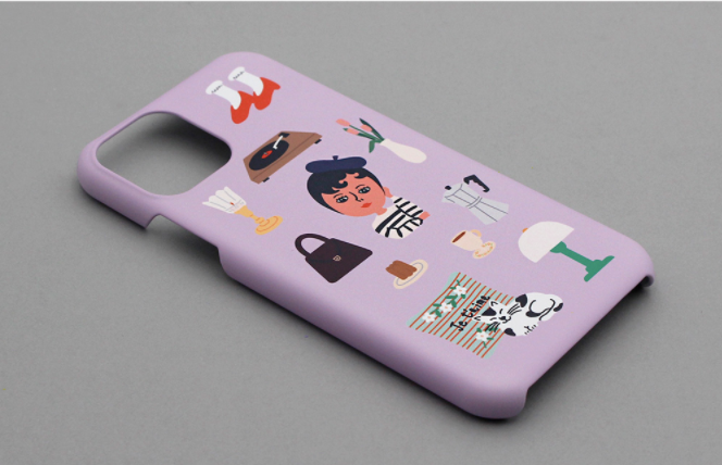 Snap Phone Case_Aurore Things - whoami