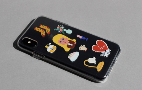 Jelly Phone Case_Ceciil Things - whoami