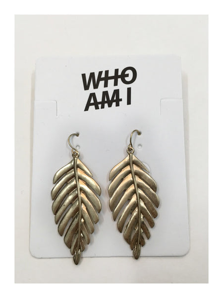Leaf Earrings - whoami