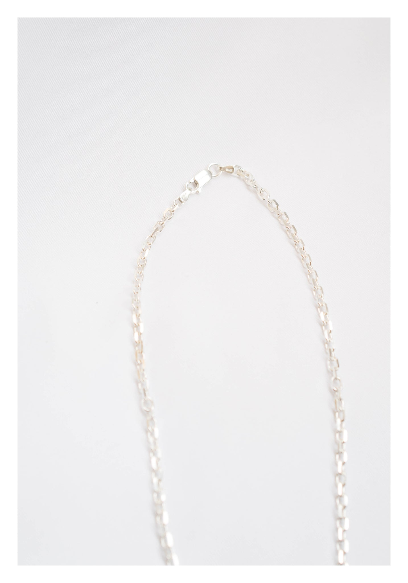 925 Silver 3D Chain On Chain Necklace - whoami