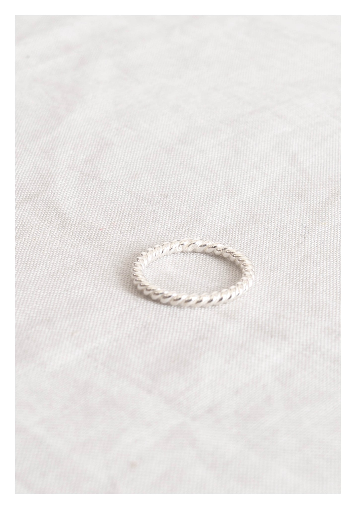 925 Silver Elegant Simple Ring - whoami