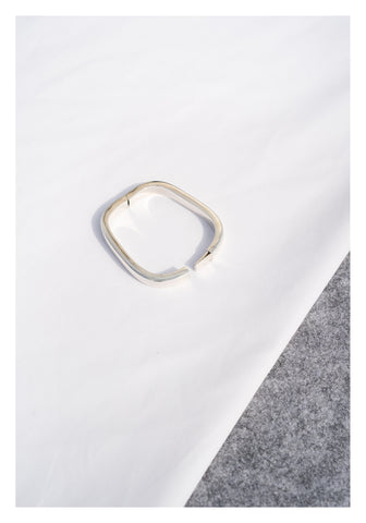 925 Silver Rectangular Bangle