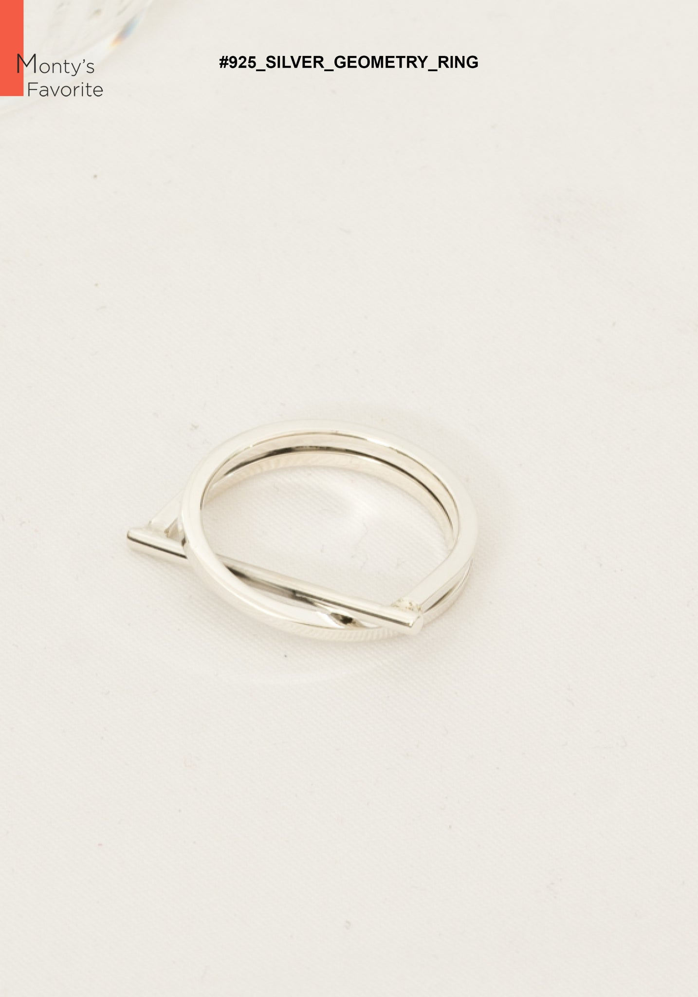 925 Silver Geometry Ring - whoami