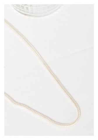 925 Silver Thick Box Chain Necklace