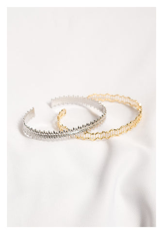 Arrow Bangle Silver - whoami