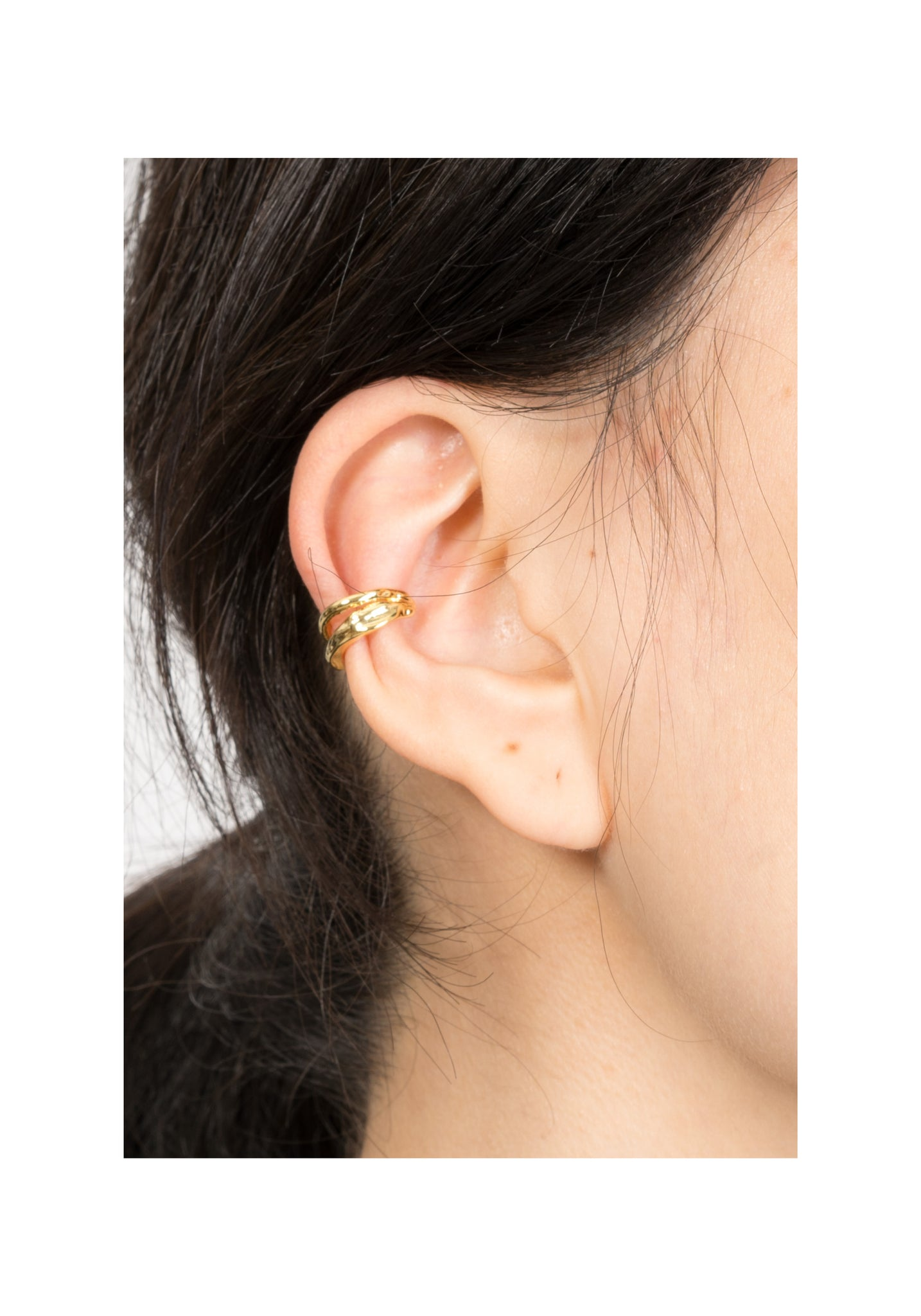 Double Organic Ear Cuffs Set - whoami