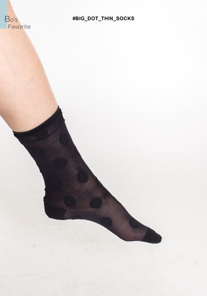 Big Dot Thin Socks - whoami