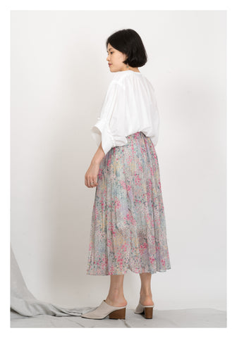 Blossom Floral Skirt Mint