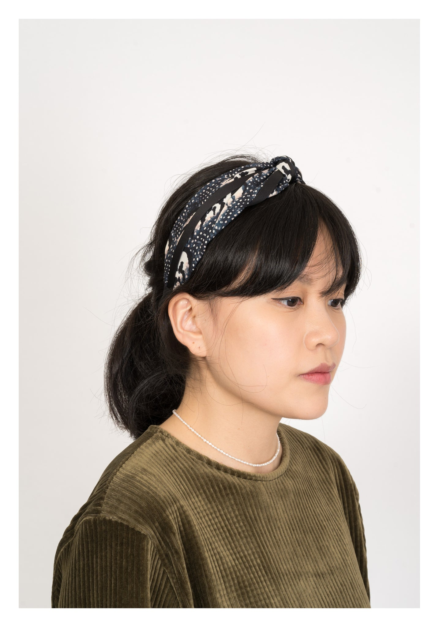 Ink And Dot Knot Hairband - whoami