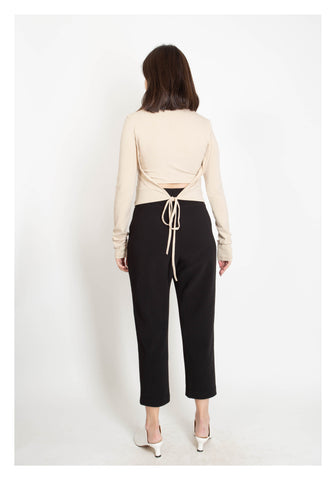 Essential Ankle Length Pants Black - whoami