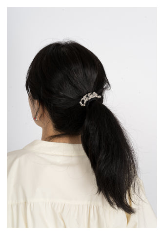 Bold Chain Hair Band Silver - whoami