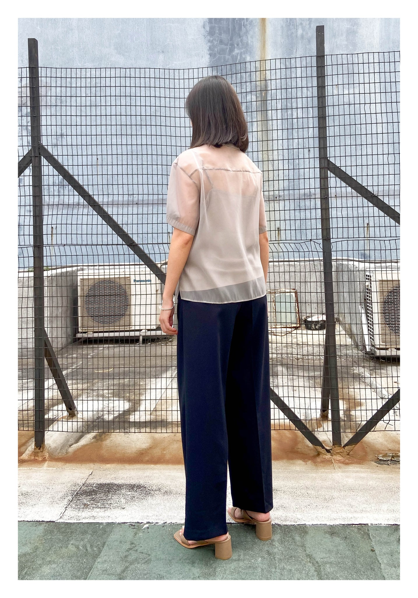 Side Button Drape Pants - whoami
