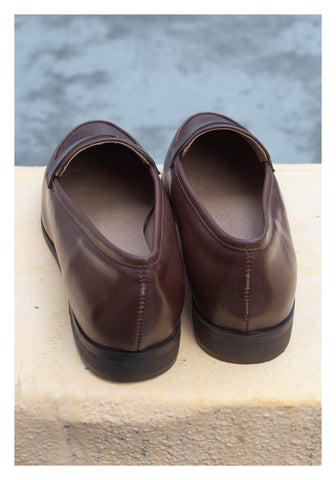Penny Slim Loafer Brown - whoami