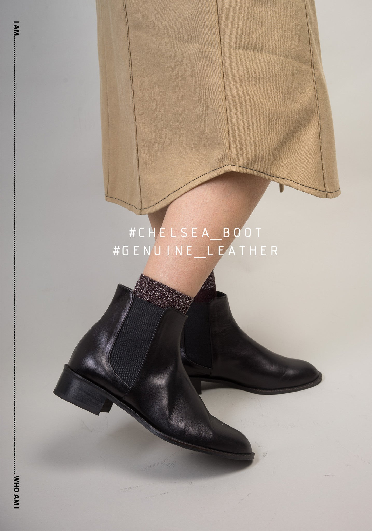 Chelsea Genuine Leather Boots - whoami