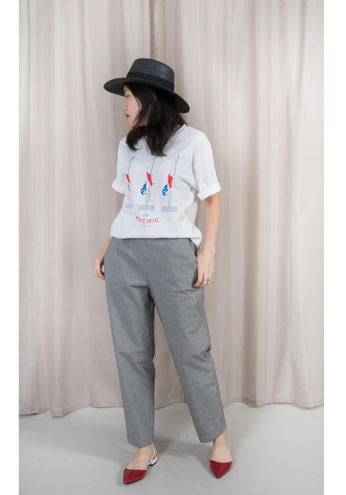 Chequer Taper Pants - whoami