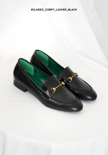 Classic Comfy Loafer Black - whoami