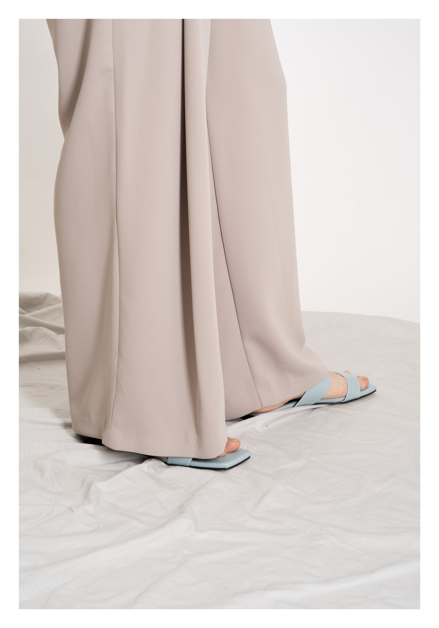 Cool Folding Pants Beige