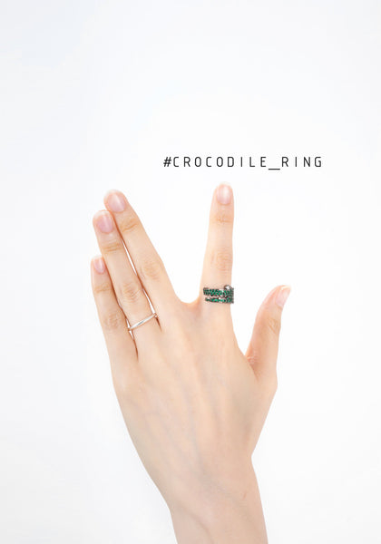 Crocodile Ring - whoami