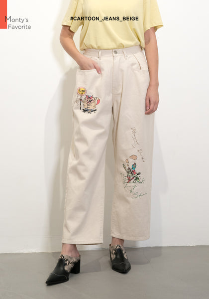Cartoon Jeans Beige