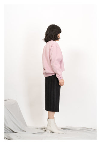 Colour Oversize Sweater Pink