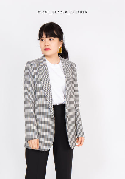 Cool Blazer Checker