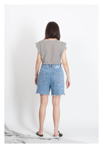 Cool Broken Denim Shorts