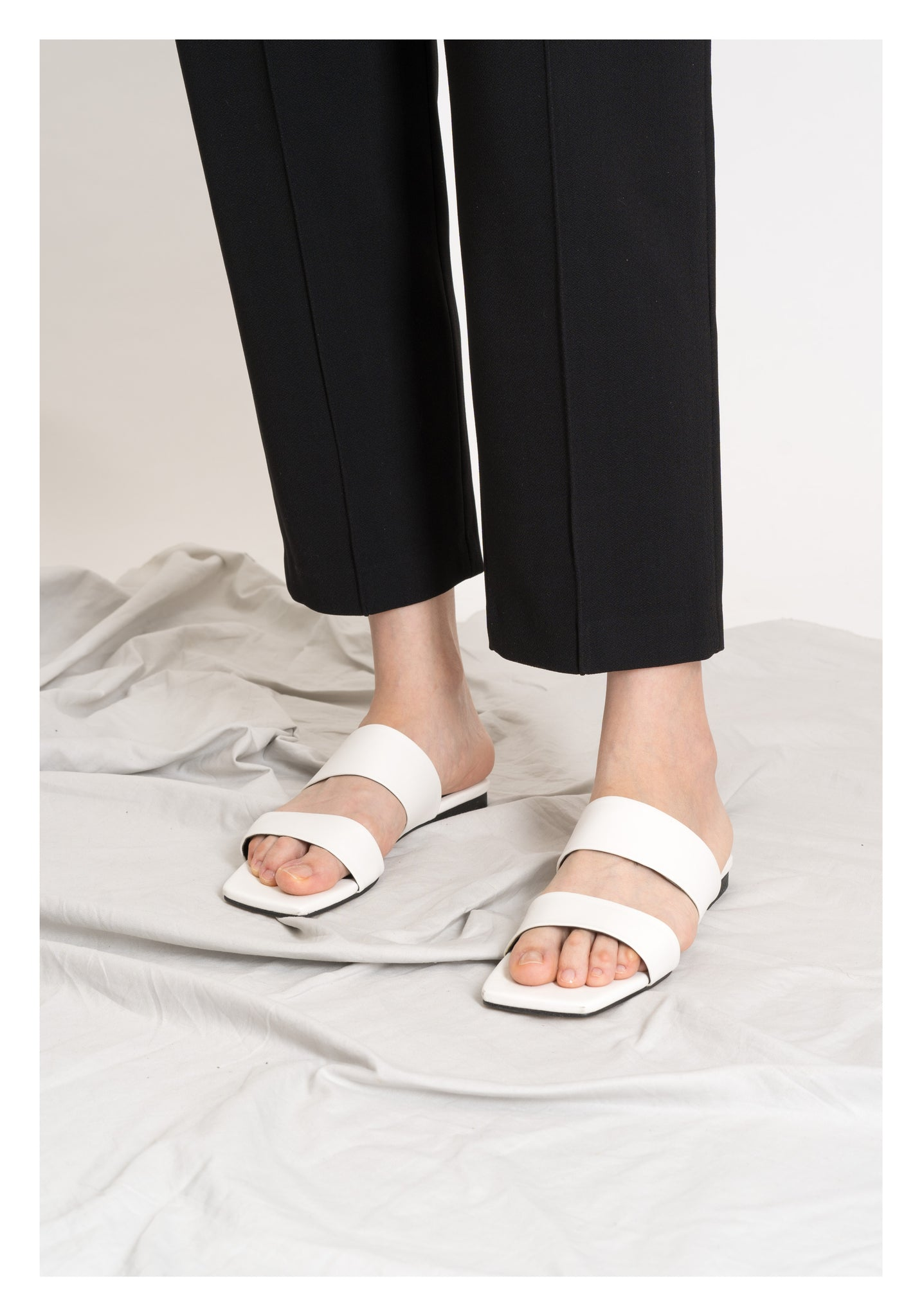 Daily Ankle Length Pants Black