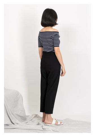 Daily Ankle Length Pants Black - whoami