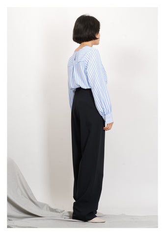 Dripping Long Shirt Pants Black - whoami