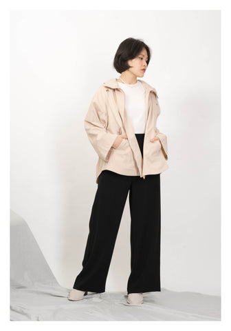 Daily Flare Jacket Beige