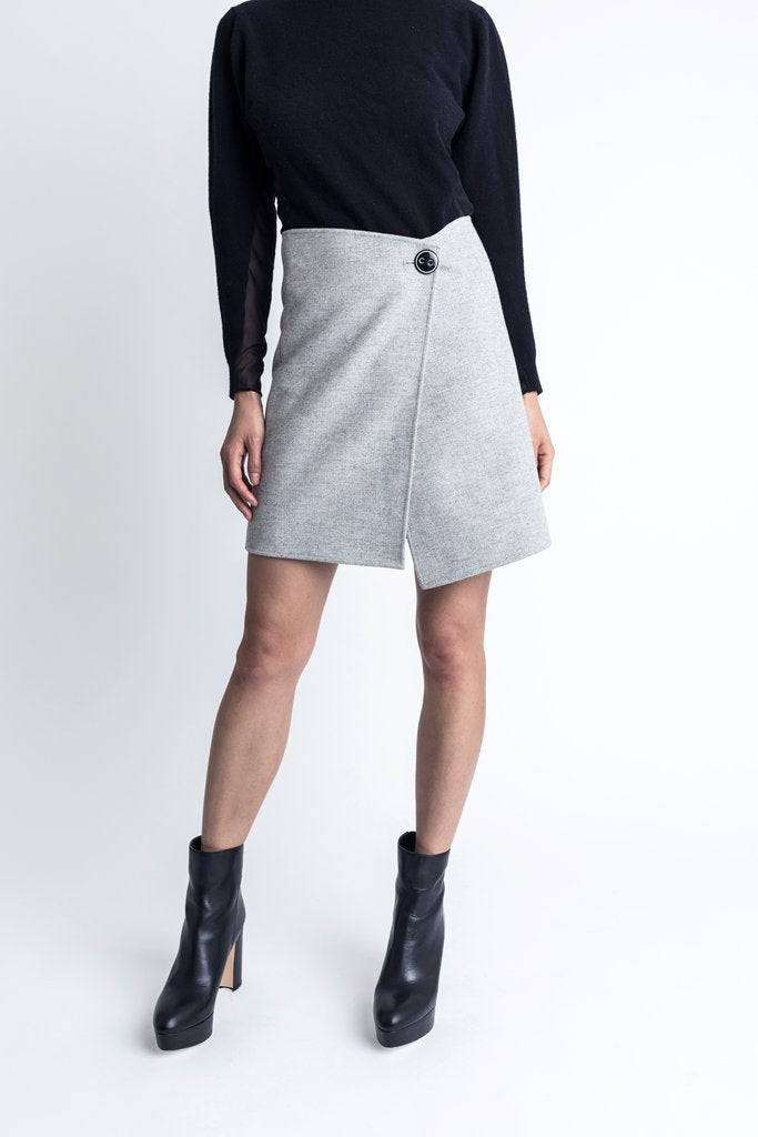 Twoways Double Face Skirt - whoami