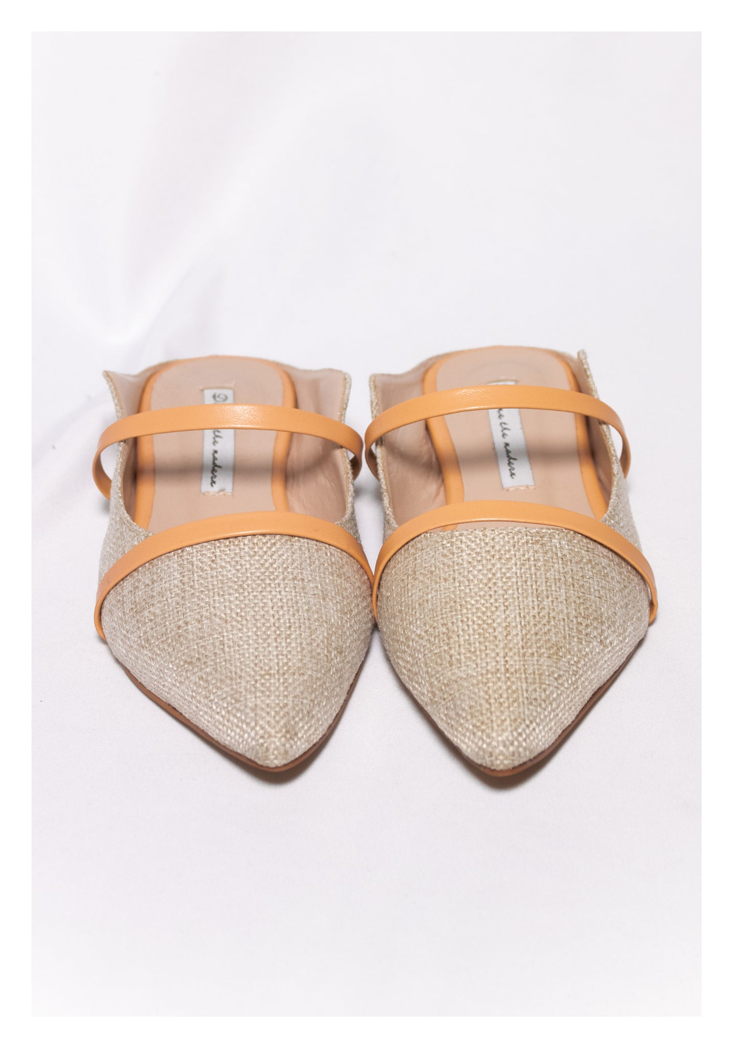 Sample Shoes - Double Strap Mules - whoami