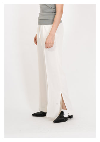 Drawstring Slit Pants Ivory