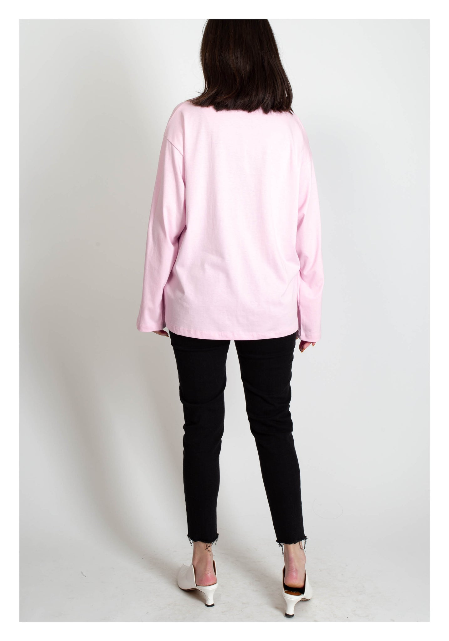 Essential Message Tee Pink - whoami