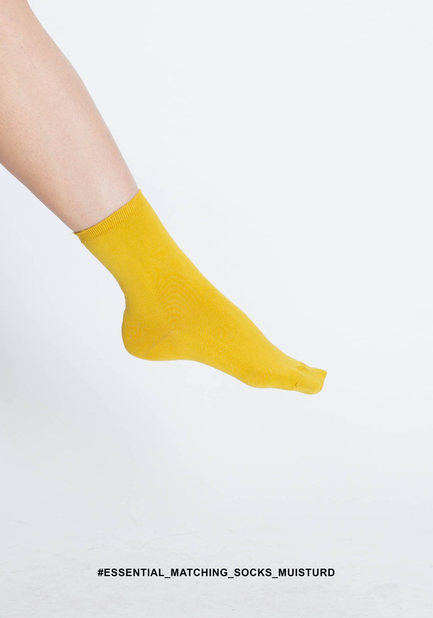 Essential Matching Socks Mustard - whoami