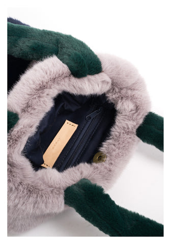 Faux Fur Mini Tote Bag - whoami