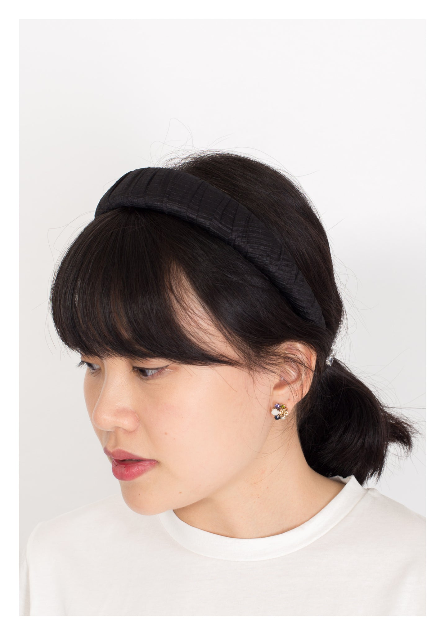 Satin Wrapping Puff Headband - whoami