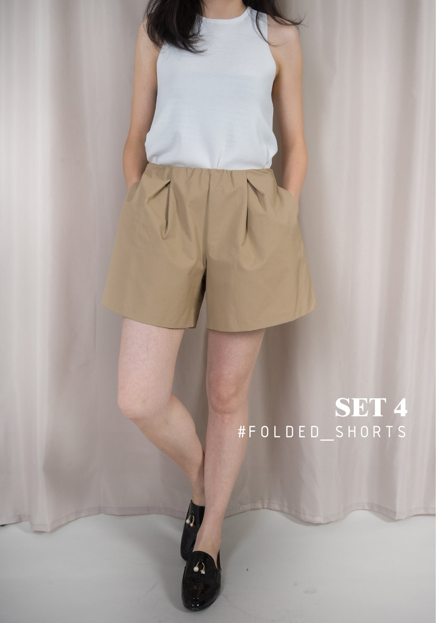 Folded Shorts Set 4