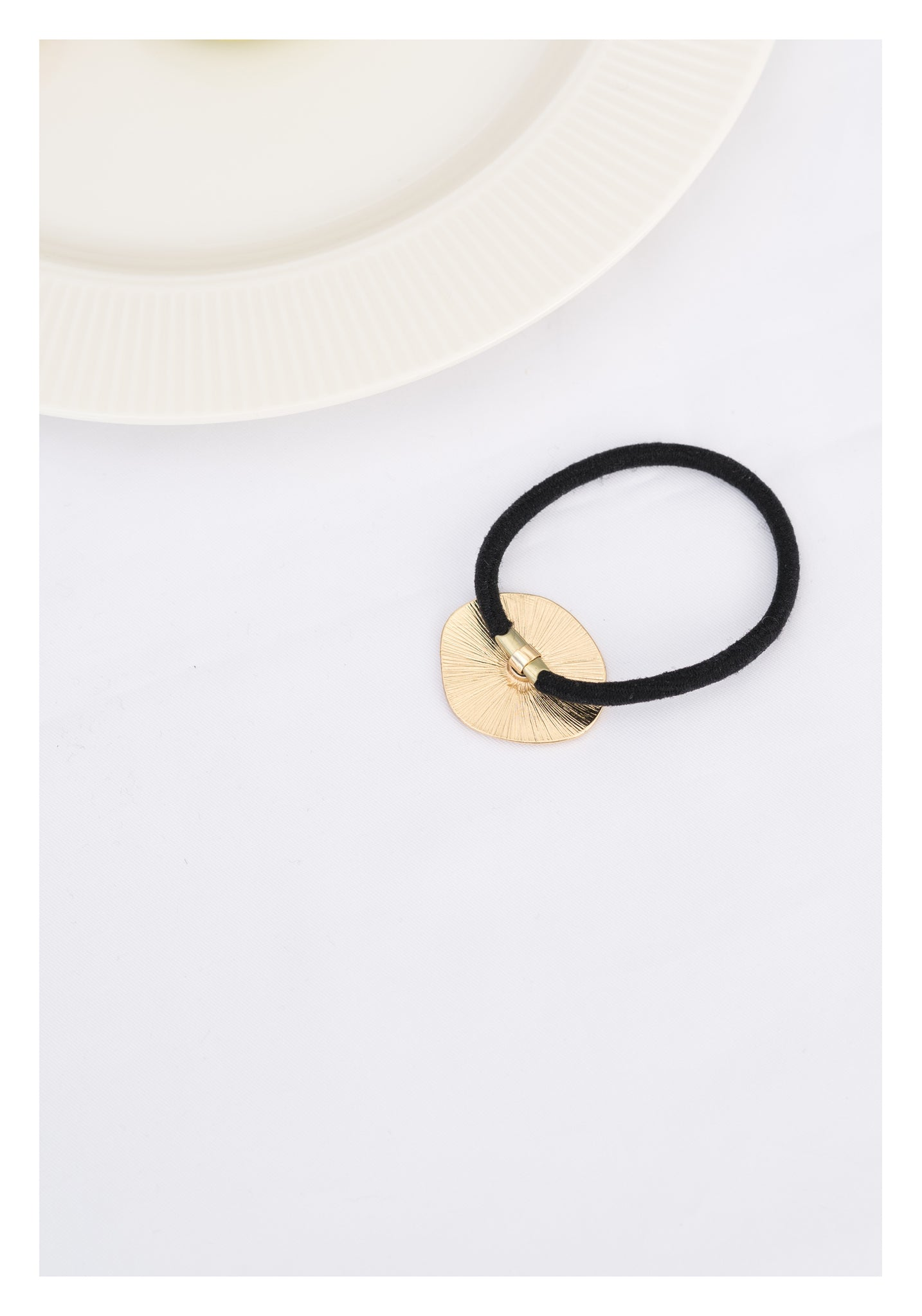 Gold Plate Hair Band