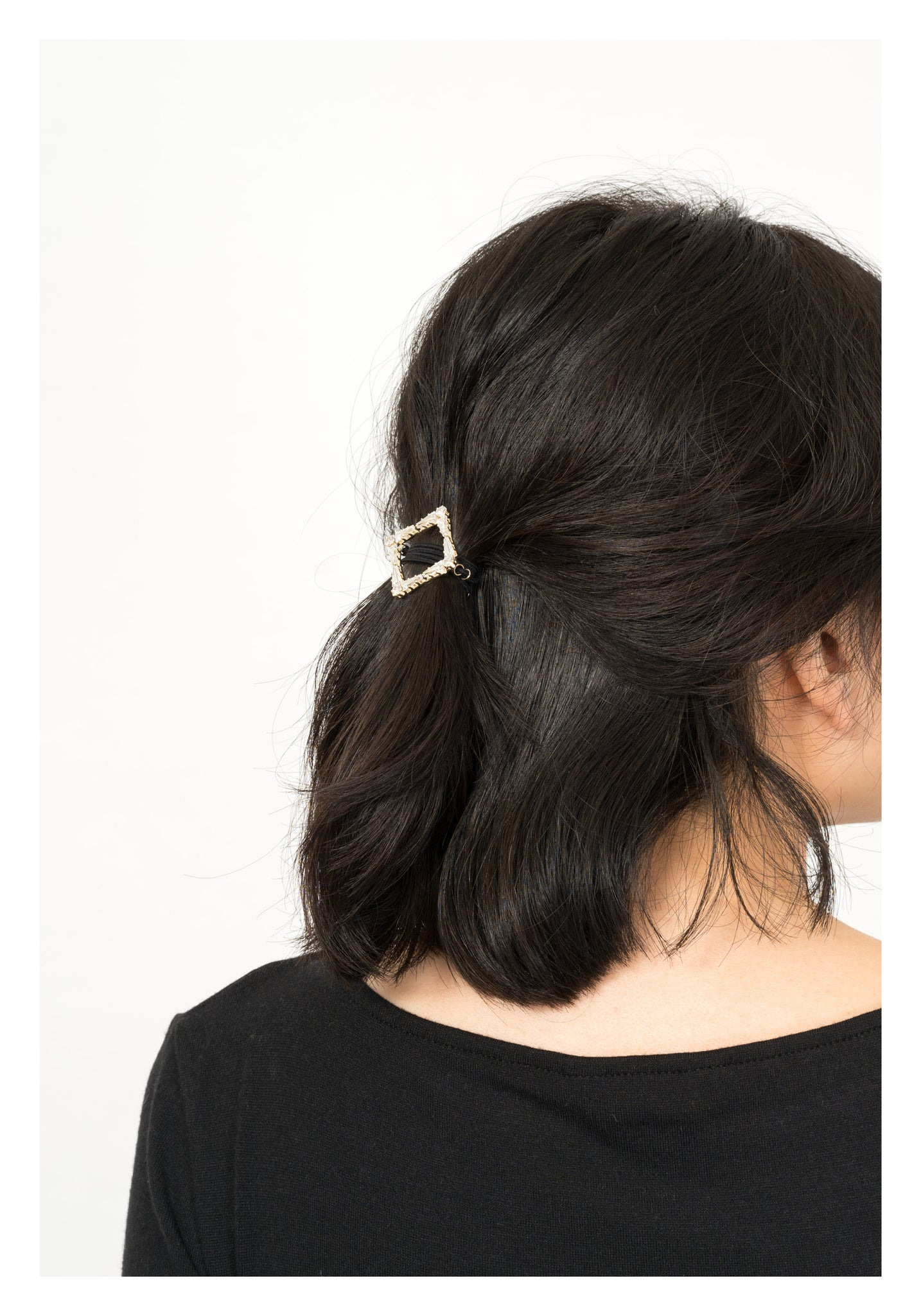 Gem Square Ring Hairband - whoami
