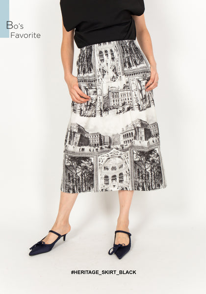 Heritage Skirt Black