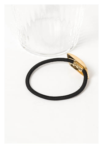 Hairline Rectangle Hairband Gold