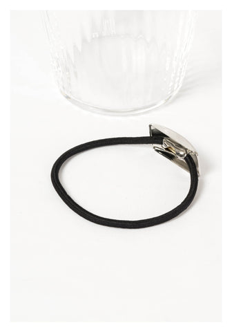 Hairline Rectangle Hairband Silver