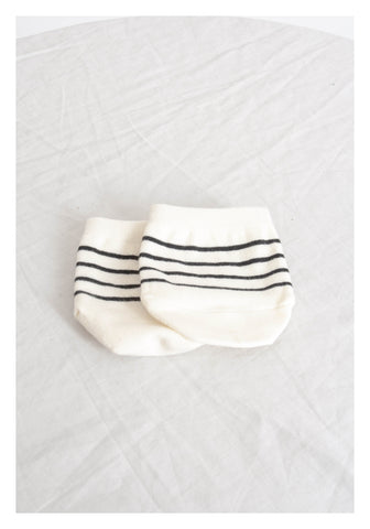 Half No Show Socks Stripe - whoami