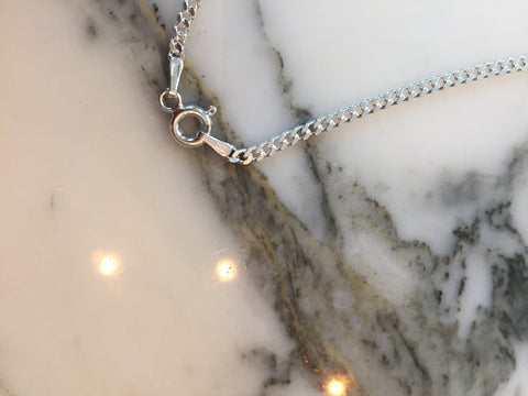 925 Basic Silver Necklace