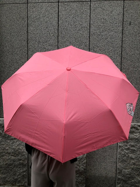 Peach Half-Auto Umbrella - whoami